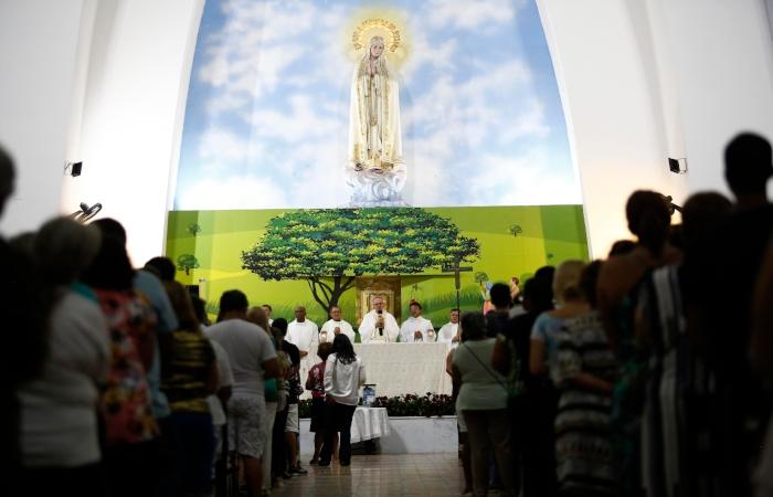 Na foto, o Santuário localizado no bairro da Soledade, Centro do Recife. Foto: Paulo Paiva/DP. (Na foto, o Santuário localizado no bairro da Soledade, Centro do Recife. Foto: Paulo Paiva/DP.)