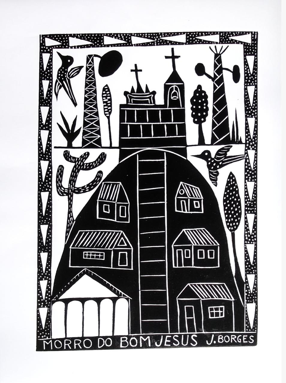 O Morro do Bom Jesus também também será destaque no trabalho de J.Borges para o São João de Caruaru. Crédito J.Borges/Divulgação Prefeitura de Caruaru