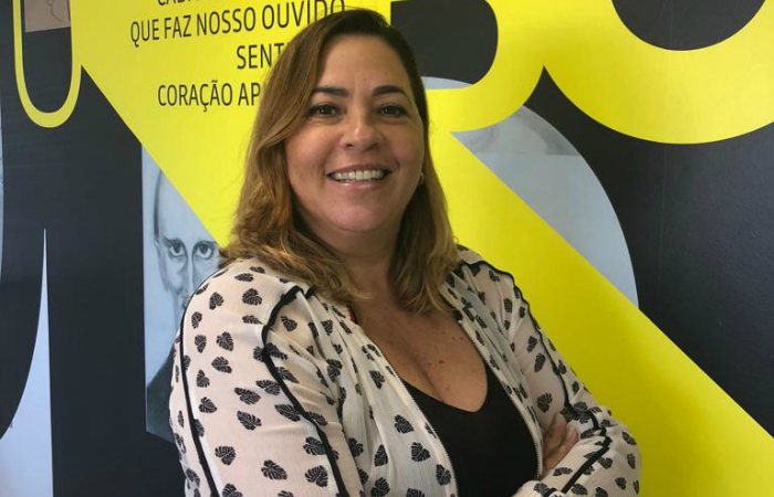 Márcia Xavier é especialista em Estratégia de Marketing pela Faculdade FAFIRE. Foto: Vanuza Lemos/UBC