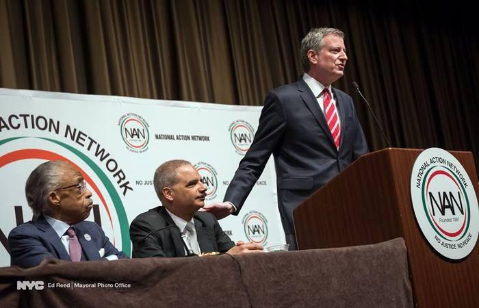 Bill de Blasio é prefeito de Nova York. Foto: Reprodução/Facebook (Foto: Reprodução/Facebook)