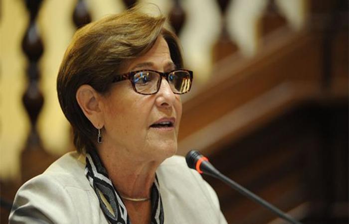 Susana Villarán, ex prefeita de Lima. (Foto: Arquivo / Andina)