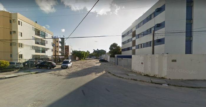 O trecho que vai receber a obra da Avenida Pinheiros vai da Rua David Kauffman até a Rua Engenheiro Alves de Souza. Foto: Google Street View/Reprodução.