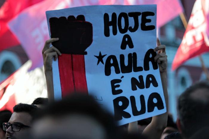 Atos semelhantes aconteceram em todo o país. Foto: Tarciso Augusto/Esp.DP.