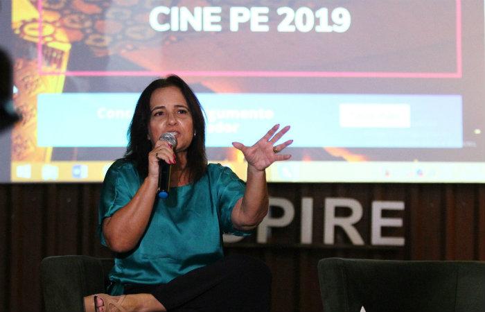 Sandra Bertini, realizadora do festival. Foto: Peu Ricardo/DP
