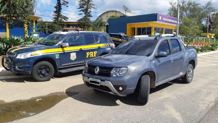 Veículo deveria ter sido devolvido em novembro de 2018. Foto: PRF / Divulgação