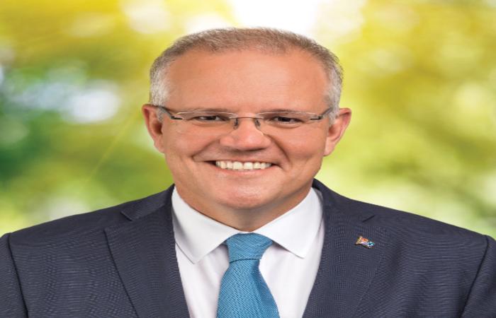 Com 66% dos votos apurados, o primeiro-ministro da Austrália, Scott Morrison, venceu as eleições legislativas. Foto: Reprodução/Twitter (Com 66% dos votos apurados, o primeiro-ministro da Austrália, Scott Morrison, venceu as eleições legislativas. Foto: Reprodução/Twitter')