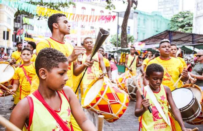 O Maracatu Cambinda Estrela participou da última edição do evento. Foto: Karla Fagundes/Divulgação