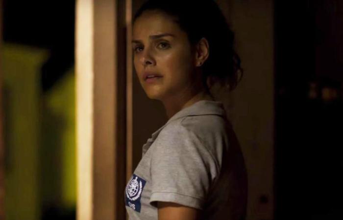 Paloma Lombardi que interpreta Lucia, a protagonista. Foto: Netflix/Divulgação