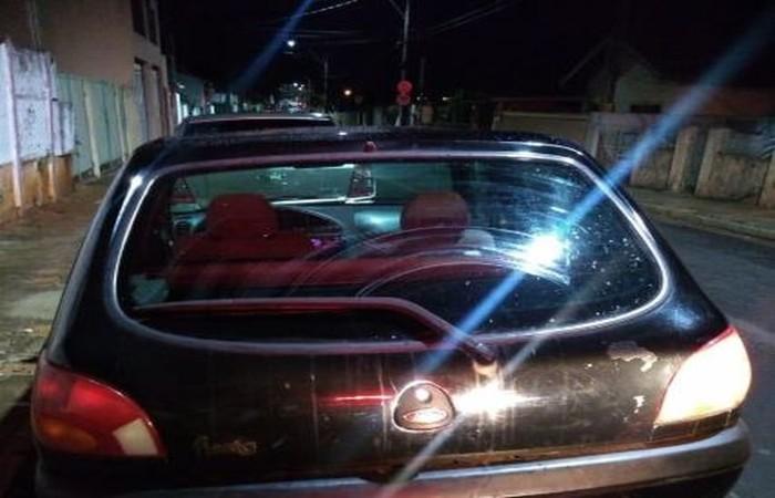 Menino dirigia ao lado de outra criança de 7 anos. Eles confirmaram o furto para dar uma volta pela cidade - Foto: GCM Botucatu/Divulgação