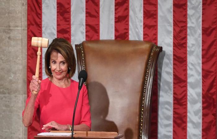 A democrata Nancy Pelosi é presidente da Câmara dos Representantes. Foto: Saul Loeb/AFP (Foto: Saul Loeb/AFP)
