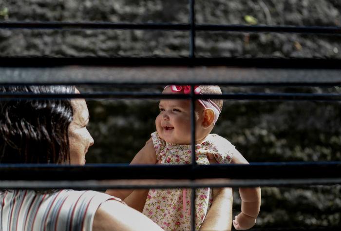Daniele mudou a alimentação por causa da filha. Foto: Leandro de Santana/Esp.DP.