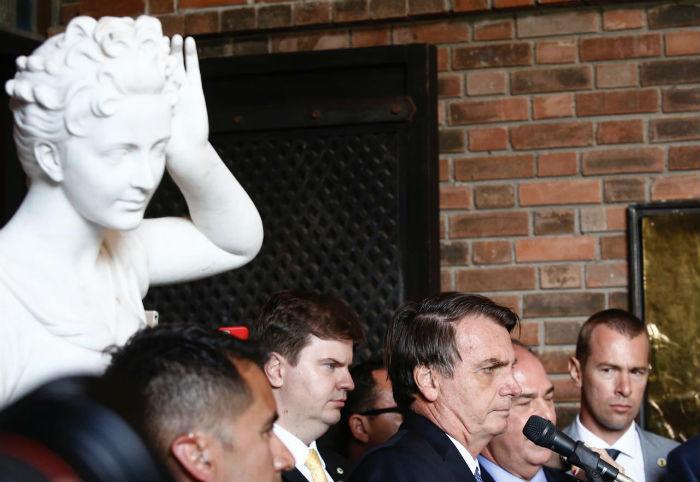 Presidente comentou eleição da UFPE na visita à capital pernambucana. Foto: Peu Ricardo/DP.