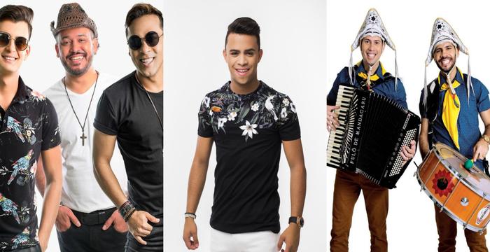 Evento vai contar com shows de Cavaleiros do Forró, Luan Douglas, Fulô de Mandacaru entre outras atrações. Fotos: Divulgação