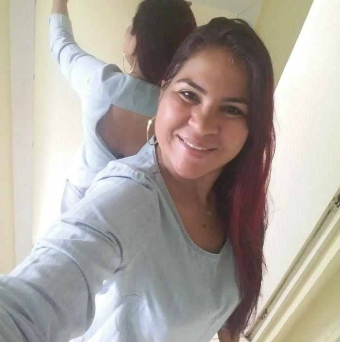 Vítima trabalhava como depiladora e costumava treinar. Foto: Facebook/Reprodução.