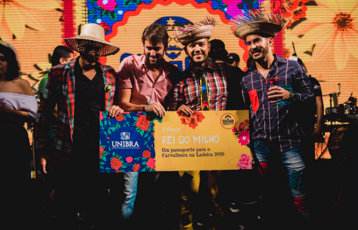 Concurso Rei e Rainha do Milho. Foto Amanda Marx/Divulgação