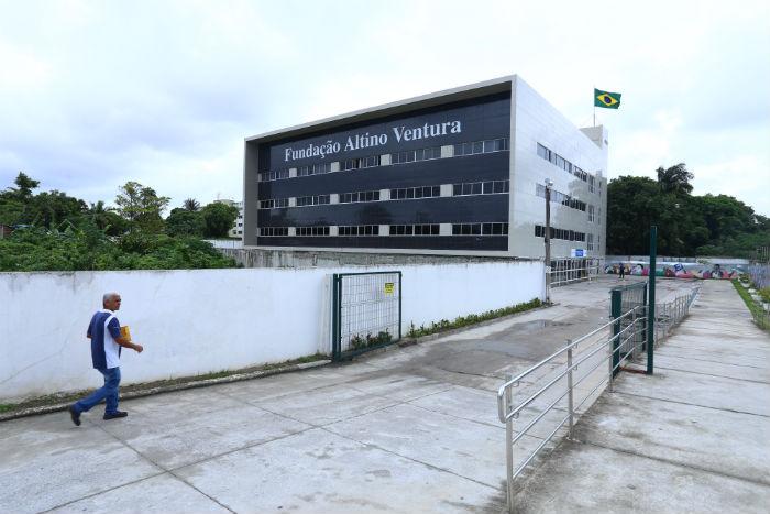 Equipamento fica em frente à Fundação Altino Ventura. Foto: Lais Telles/Esp. DP.