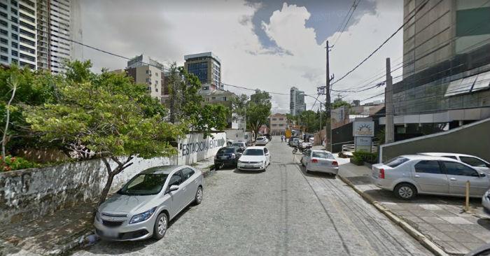 A Rua Minas Gerais será mão única em direção à Rua José de Alencar. Foto: Google Street View/Reprodução.