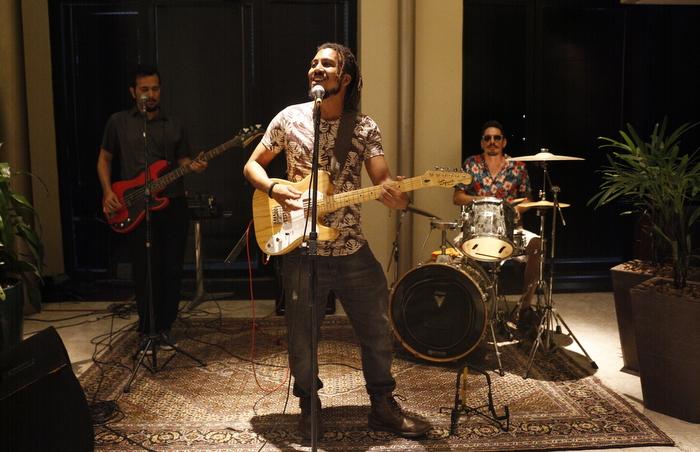 No encerramento houve show de Dio Santos. Foto: Leandro de Santana / DP Foto