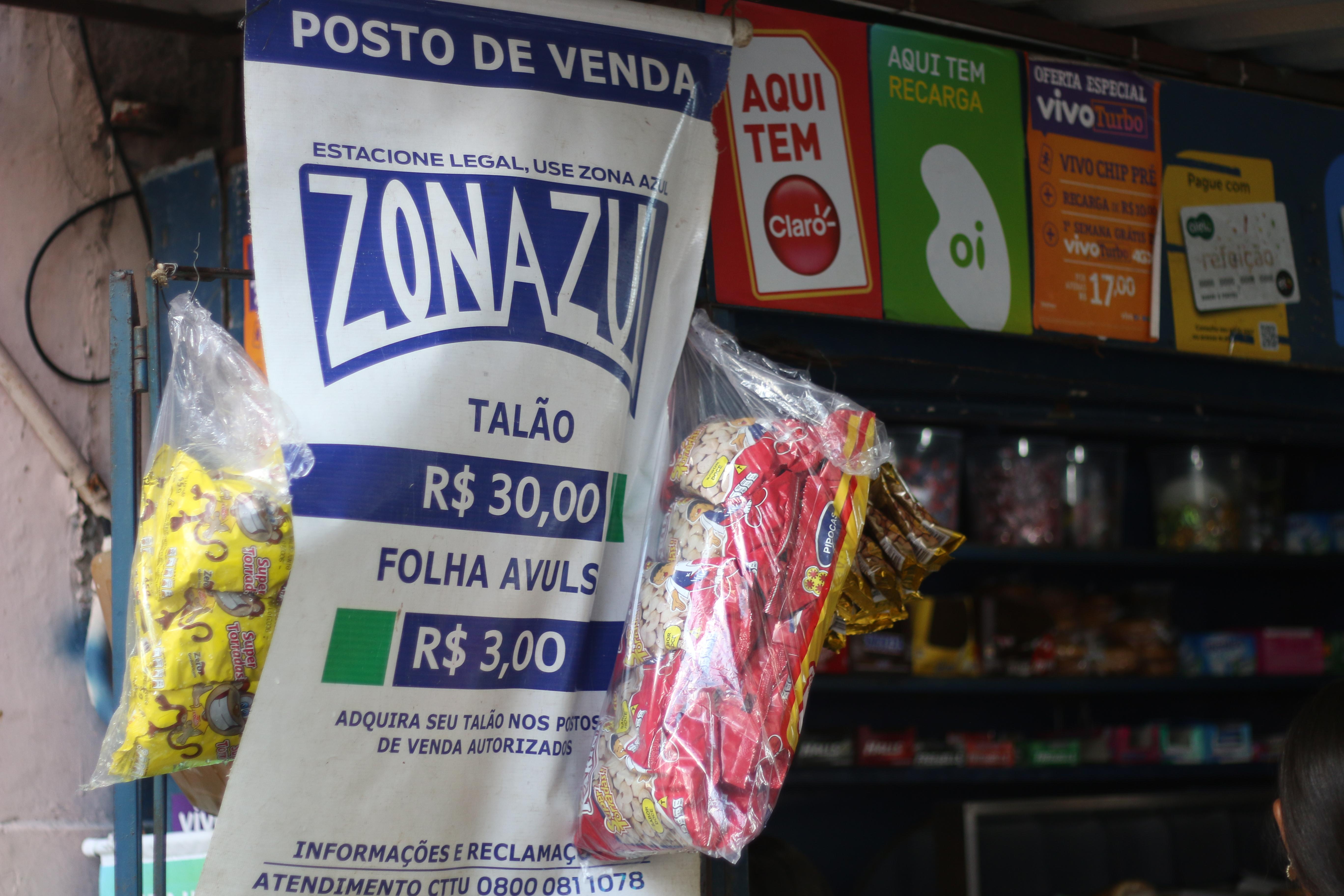 Fiteiros do Bairro do Recife não receberam material para comercializar nesta terça-feira. Credito Gabriel Melo Esp DP