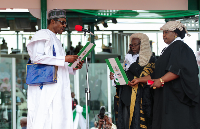 Foto: Sunday Aghaeze / Nigerian Presidential Press Services / AFP