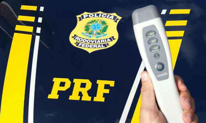 Equipamentos estão sendo usados desde o final do ano passado. Foto: Polícia Rodoviária Federal (PRF) / Divulgação