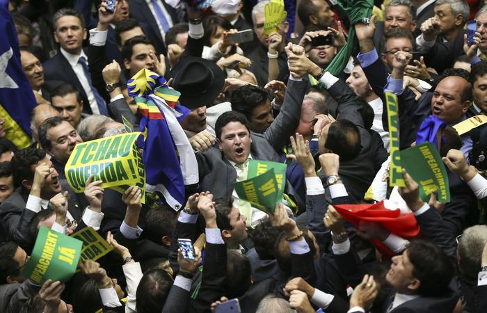 Bruno ficou marcado por ter dado o voto que selou impeachment de Dilma Rousseff. Foto: Marcelo Camargo/Agência Brasil