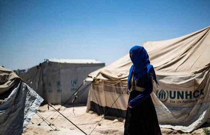 Mulheres e crianças são maioria entre os moradores do campo de Al Hol. FOTO: AFP/Delil Souleiman (Mulheres e crianças são maioria entre os moradores do campo de Al Hol. FOTO: AFP/Delil Souleiman)