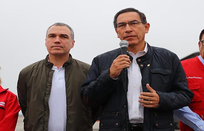 Foto: HO / PRESIDENCIA DEL PERU / AFP