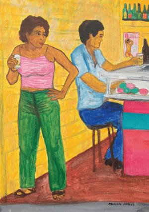 Mulher no Bar1. Foto: Maurício Arraes/Divulgação