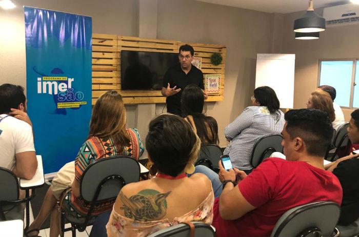 Durante cinco dias, participantes se conectam a iniciativas do Novo Jeito, Transforma Brasil e mais de 120 organizações e negócios de impacto da RMR. Foto: Divulgação