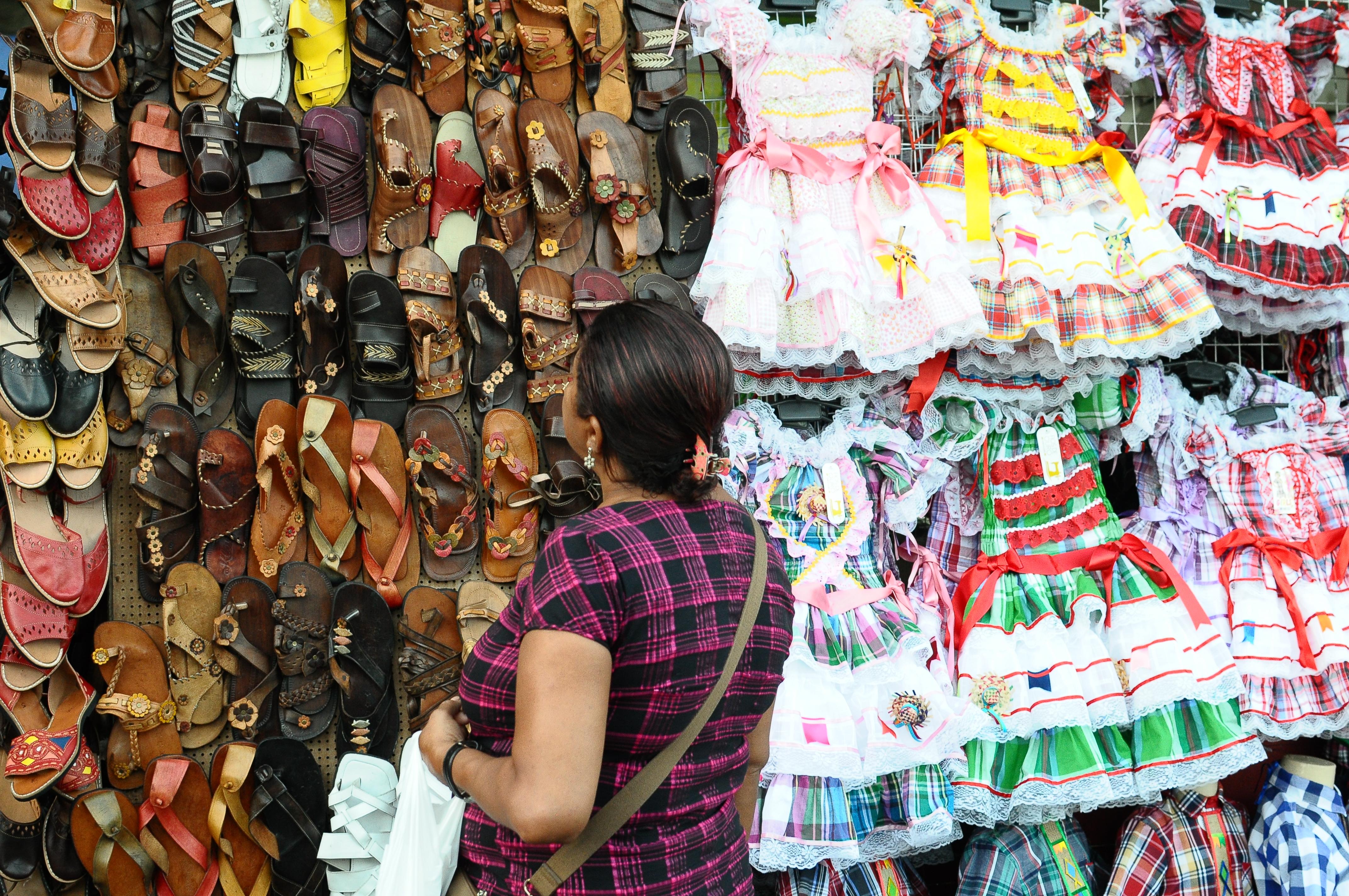 Segmento de vestuário é um dos que sentem o incremento nas vendas. Foto: Joao Velozo/ Esp. DP/Arquivo