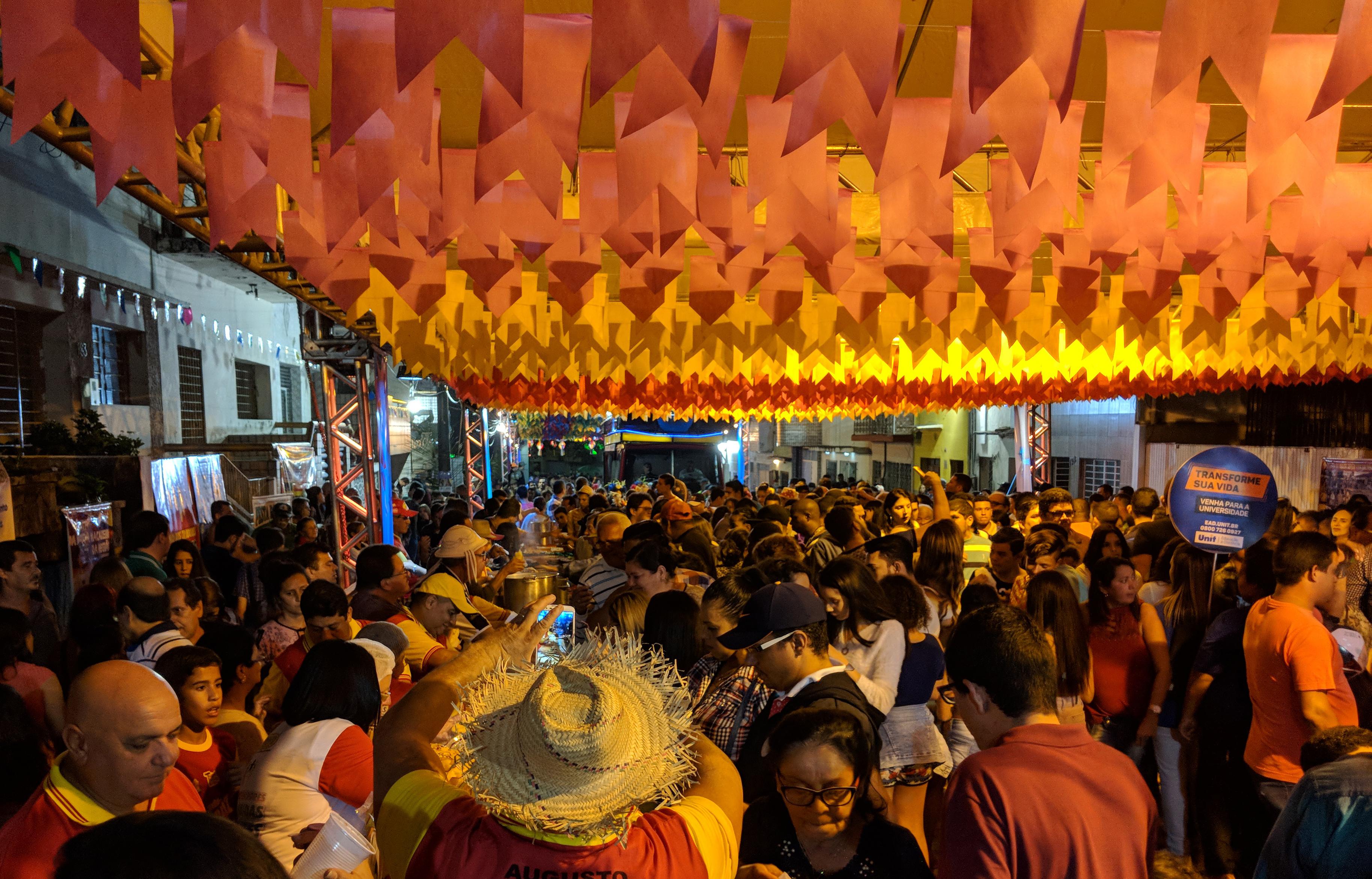 Festejos juninos vão impulsionar as vendas no mês de junho, inclusive no interior do estado. Foto: Lula Portela/Divulgação.