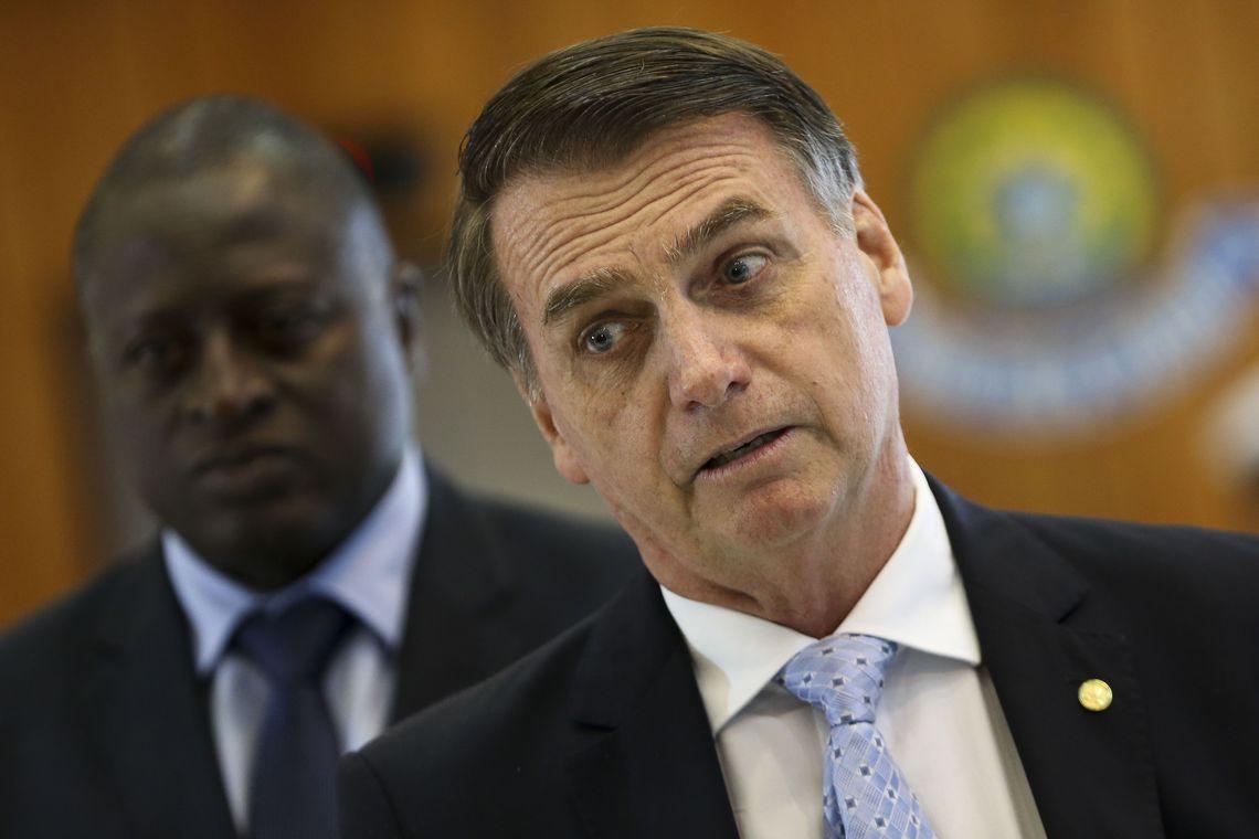 """""""Vai acabar com a indústria da multa no Brasil"""", afirmou o presidente - Foto: Marcelo Camargo/Agência Brasil"""