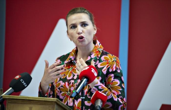 De acordo com a boca de urna, na liderança está a candidata Mette Frederiksen com 25,3%. Foto: Ritzau Scanpix/AFP (Foto: Ritzau Scanpix/AFP)