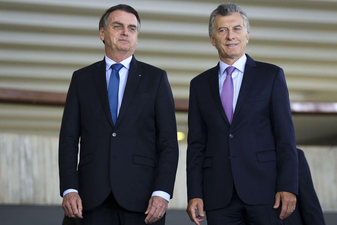 É a primeira visita oficial do presidente ao país vizinho. Foto: Marcelo Camargo/Agência Brasil