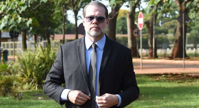 Ministro participou de audiência pública no CNJ, em Brasília, e saiu às pressas do local. Foto: Ed Alves/CB/D.A Press - 26/12/18