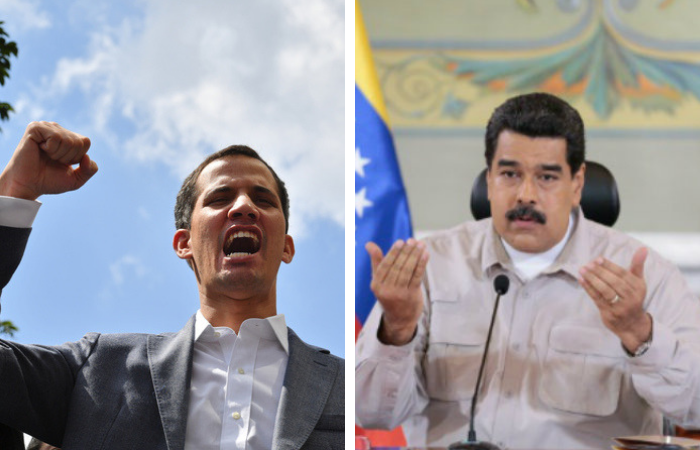 A crise foi acentuada pela disputa de poder entre o presidente socialista Nicolás Maduro e o líder opositor Juan Guaidó. Foto: Arquivo/ AFP  (Foto: Arquivo/ AFP )