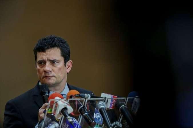 Sérgio Moro: ''Não tem nenhuma orientação ali naquelas mensagens''. Foto: AFP / Michael DANTAS