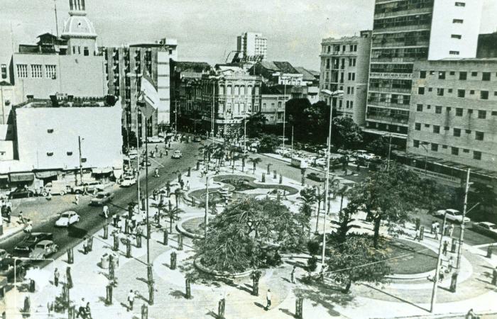 Praça da Independência, conhecida como Pracinha do Diario, em Santo Antônio. Foto: Arquivo/DP/D.A Press