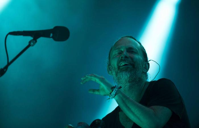 Thom York teve arquivos com gravações inéditas dos anos 1990 roubados de seu disco rígido. Foto: Danilo Verpa/Folhapress
