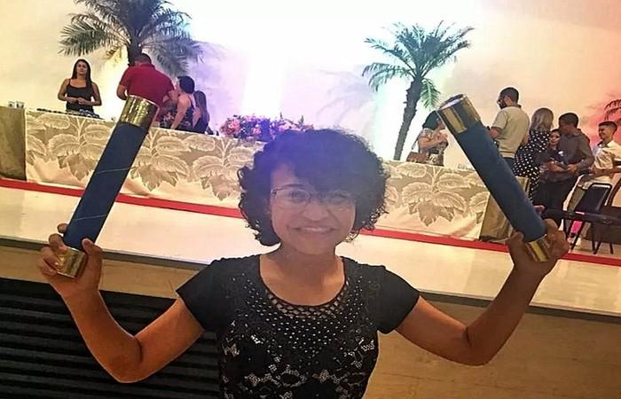 De acordo com madrasta, a adolescente assassinada e esquartejada em Araraquara sonhava em cursar astronomia. Foto: Reprodução/Redes sociais (Foto: Reprodução/Redes sociais)