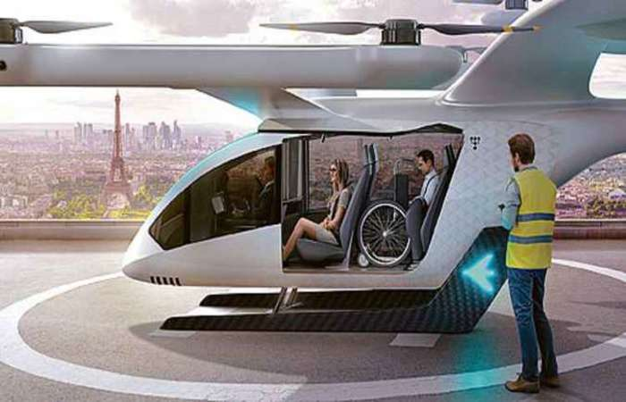 A primeira apresentação pública do eVTOL está marcada para a Dubai World Expo, em 2020. Foto: Embraer/Divulgação