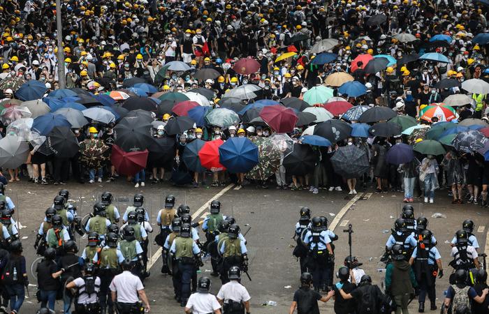 Dale De La Rey/AFP
