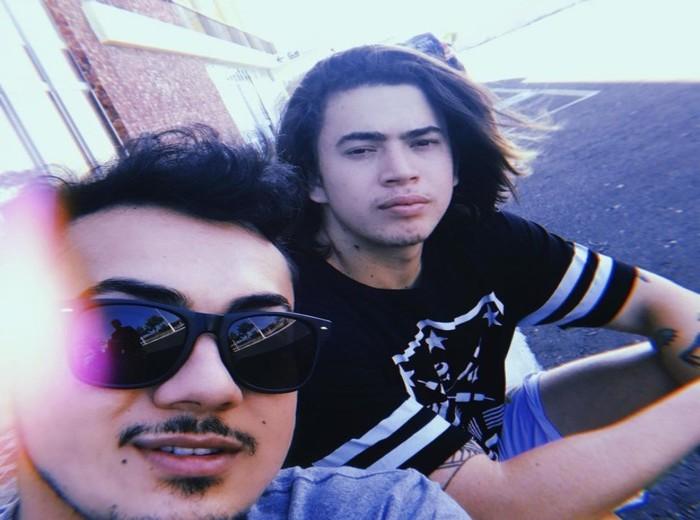 Os irmãos Hidelvan Nunes e Whindersson Nunes. Foto: Reprodução/Instagram