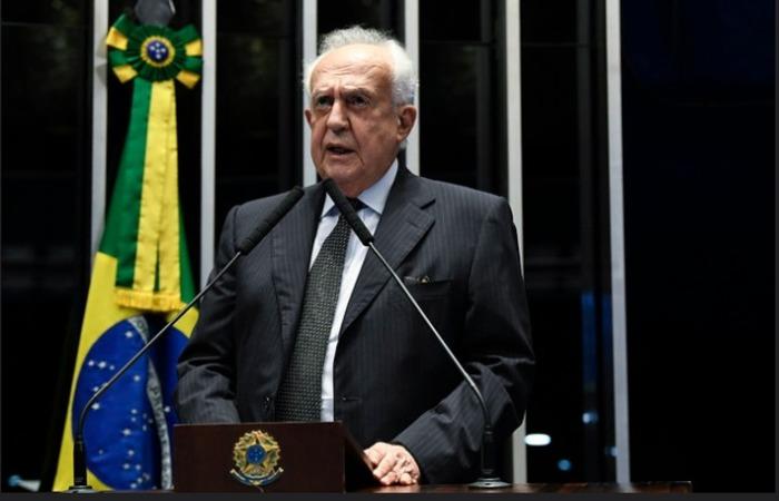 Senador defendeu uma agenda de reformas e mudanças para o Brasil. Foto: Senado Federal/Divulgação