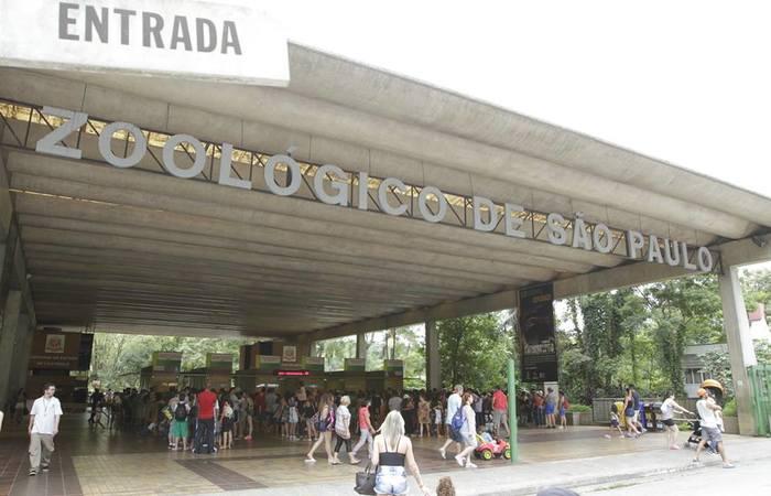 Fachada do Zoo de São Paulo. Foto: Reprodução/Facebook/Paulo Gil