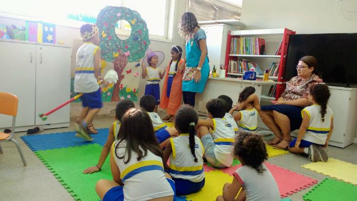 Objetivo do projeto é estimular a leitura na primeira infância. Foto: PCR/Divulgação.