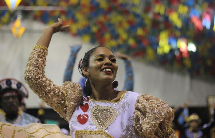 A Junina 100Hora Nordestina é do bairro de Areias, na Zona Oeste do Recife. Foto: Samuel Calado/DP
