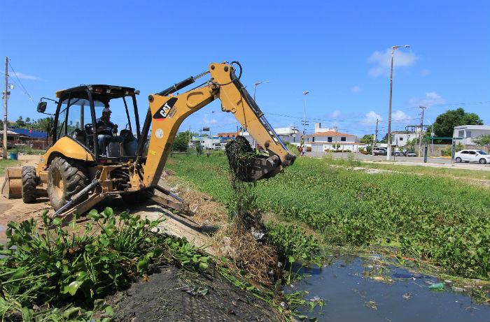 Limpeza de canais e prevenção nos morros estão na lista de prioridades. Foto: Divulgação /PMO