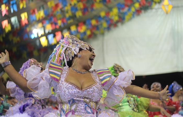 Daiana Carvalho, noiva da Junina Matutada. Foto: Samuel Calado/DP